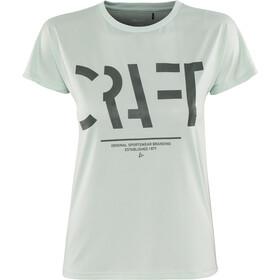 Craft Eaze Logo Løbe T-shirt Damer turkis